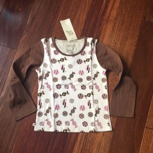 coco bon bons Shirts & Tops - Coco bon bons tee shirt with sweets candy print